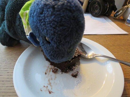 Annasawus have a taste of my chocolate brownie