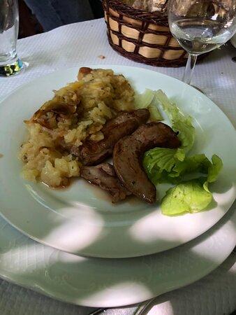 Un repas copieux et succulent!