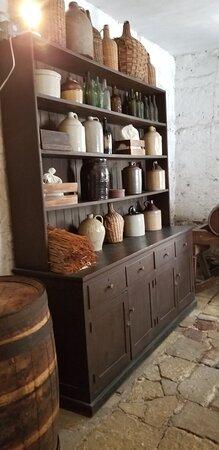Owens Thomas House & Slave Quarters, Jepson Center, Telfair Academy Ticket Combo: storage in kitchen