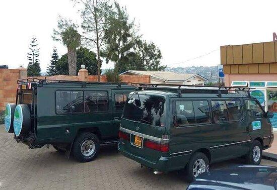 Safari Van at head office Nziza Safaris Rwanda