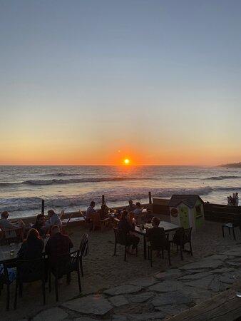 Bretignolles Sur Mer, فرنسا: Sunset
