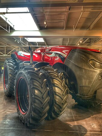 Neat to see the history and future of case tractors