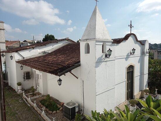 Visão aerea da capela São mateus