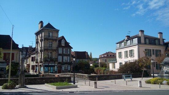 Salies-de-Bearn, Frankrijk: Vista panorámica.