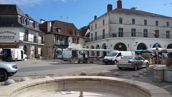 Salies-de-Bearn, Frankrijk: Día de mercado
