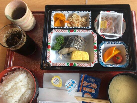 訪問時の宿泊者用、和朝食