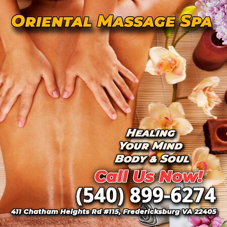 Oriental Massage Spa is an Asian massage spa designed to help you reduce stress, relieve build up chronic pain, and increase the overall quality of your life! We specialize in multiple affordable, customized treatments to meet the needs of a wide variety of clients in a peaceful setting! We are proud to be providing Authentic Asian Massage therapy services in our beloved community of Fredericksburg, VA!