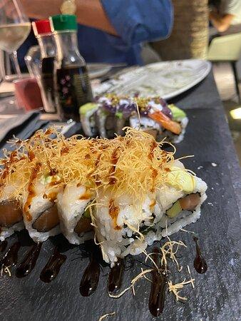 Sushi e primi piatti con vista