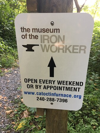 Catoctin Furnace Historical Society Off the African American Cemetery Trail to the Museum of Iron Worker.