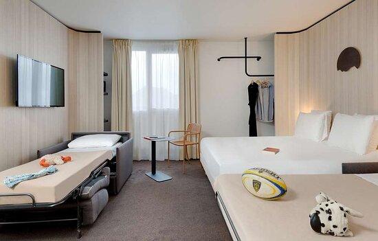 Chambre quintuple Kyriad Clermont-Ferrand-Sud-La Pardieu