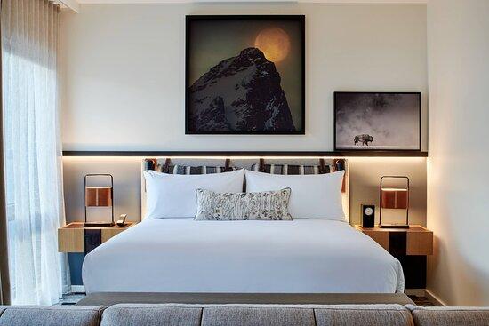 Junior Suite - Sleeping Area