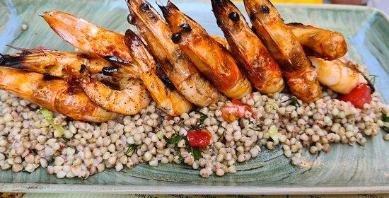 Shrimps at Raki Ba Raki, photo by placescases.com