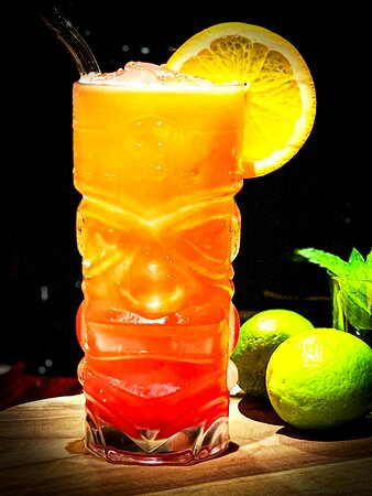 Enjoy a nice drink from our bar-tender Sebastian