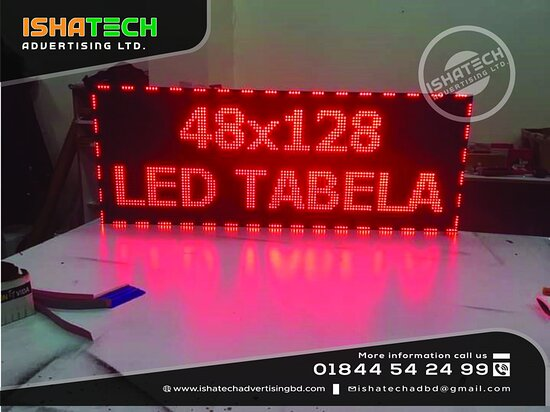 Mirpur, Bangladesh: p10 Moving Display Board & Moving Display Board Controller with Screen panel Display for Indoor & Outdoor p10 Comedown LED Moving Display in Bangladesh. @ Terms and Conditions: Two Years Service's with Materials Warranty. ►Contact us for more information: Cell: 01844 - 542 499, 01844 - 542 498 ►Visit our Sent: E-mail: ishatech.advertising@gmail.com E-mail: info@ishatechadvertisingbd.com