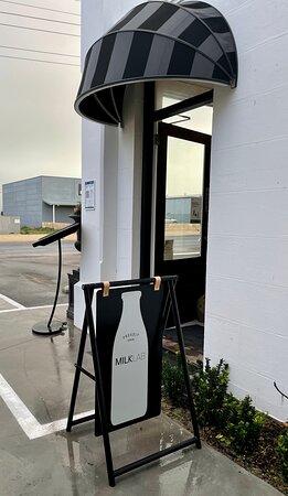 New front door at Robe Store