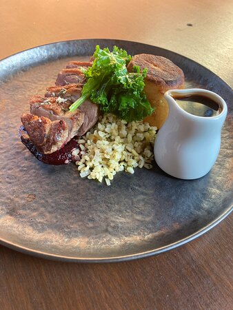 Chicken and duck dish