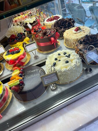 Great selection of quality cakes