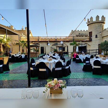 Terraza medieval (boda)