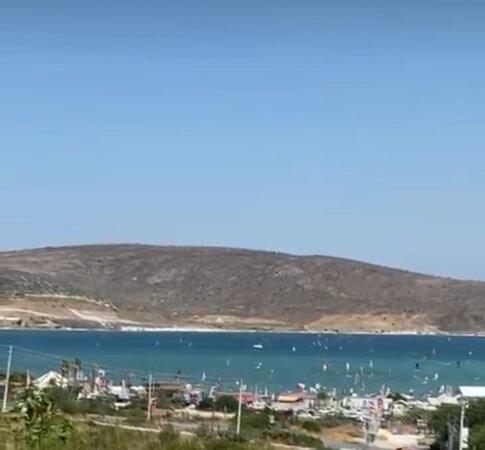 Alacati, Turquie : Sörf alanı ALAÇATI