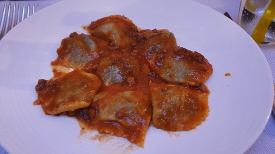 Tordeli with bolognese sause
