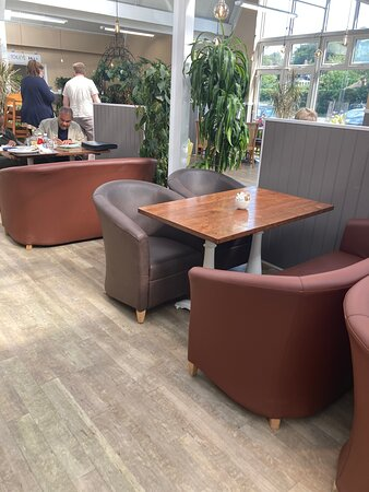 10.  Blackbrooks Garden Centre Restaurant, Sedlescombe, East Sussex