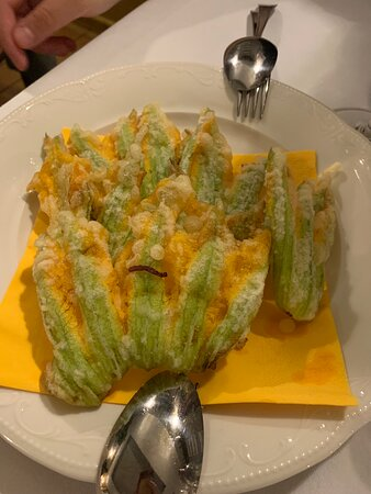 Fuori di zucca fritti