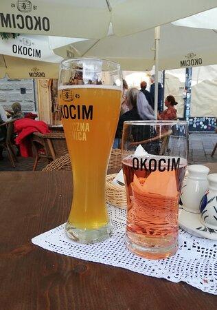 Polish beer and polish rosé