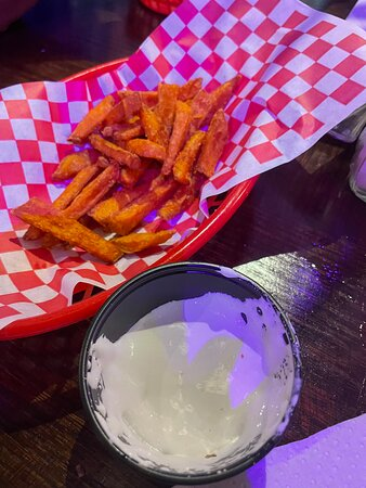 Sweet Potato Fries with Fluff