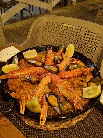Ensalada - Restaurant Los Arcos, Mayorka Resmi - Tripadvisor