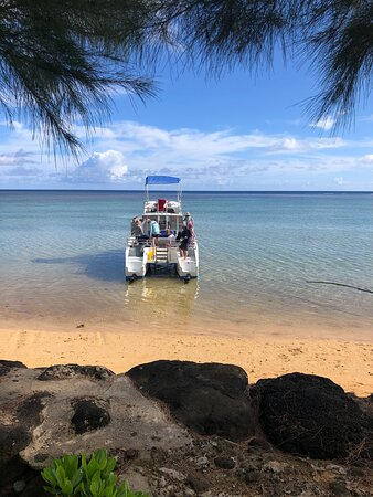 Best Summer boat tour on the north shore of Kaua'i