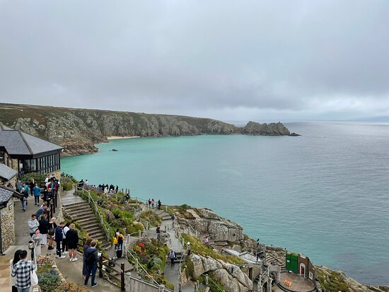 """Tripadvisor - The stage for the play we saw """"Charlie and Stan"""" - صورة Minack Theatre، Penzance"""