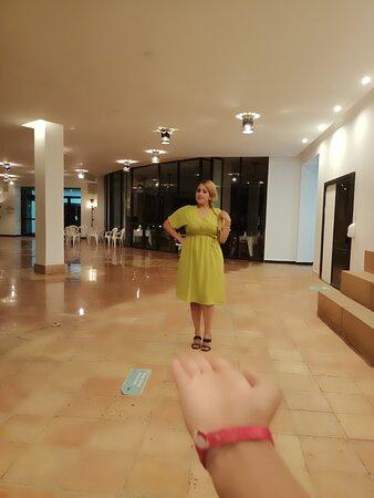 Nahila et une des meilleures animatrice de iberostar agadir l hotel de lux