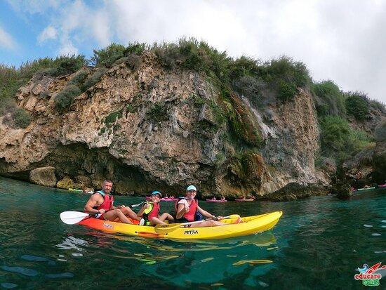 Percorso Kayak Scogliere di Nerja e Maro - Cascada de Maro + Snorkel Photo