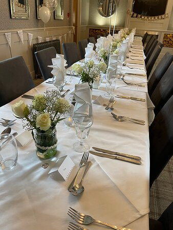 Wedding in our function room