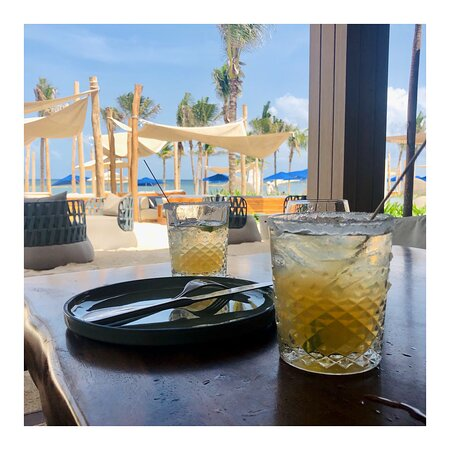 Margaritas at The Sands