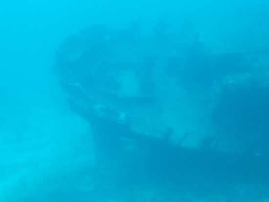View from submarine