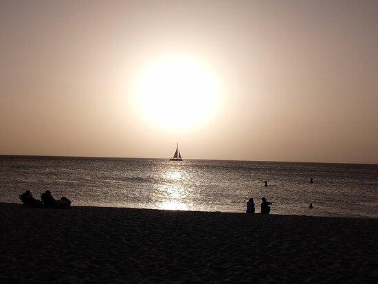 Sunset Eagle Beach Aruba