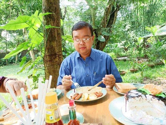 Assam, Hindistan: Breakfast time