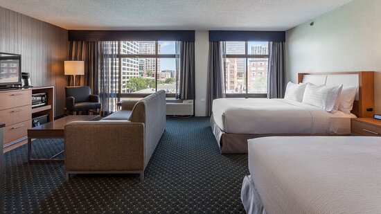 Spacious suites ideal for family and friends