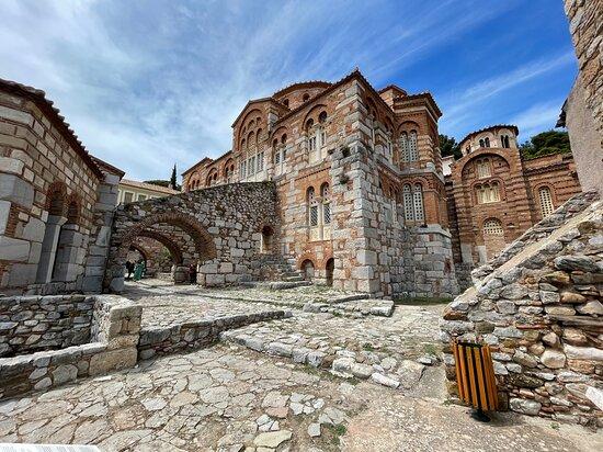 Monastery of Osios Loukas, close by Fedriades Delphi