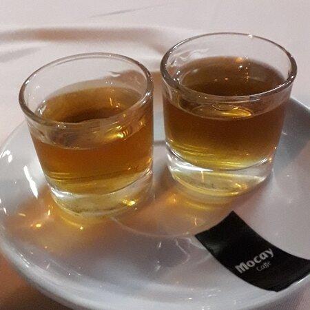 Honey Rum Shots