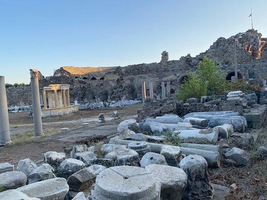 Старый город Сиде