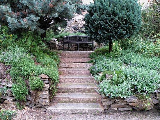 Garten in der Burg