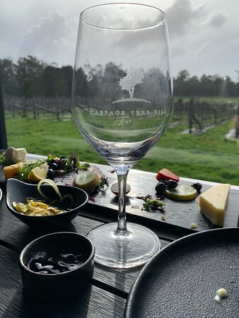 Full Day Tamar Valley Wine Tour: Cabbage Tree Hill - the view