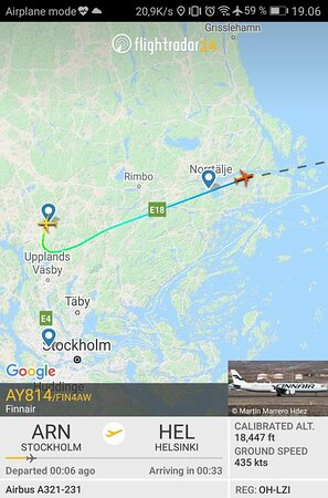 Finnair: Complimentary ½ hour wifi in Business Class