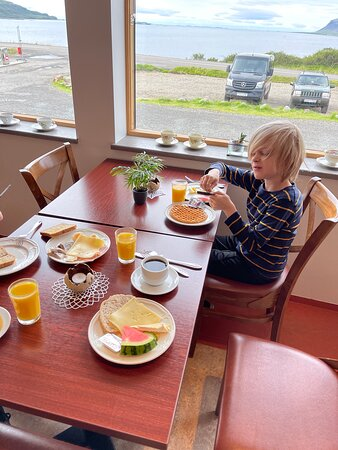 Breakfast at Flókalundur