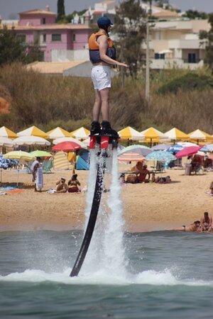 Flyboard Experience Algarve, Portugal: I am Iron Man 😄🤗😉