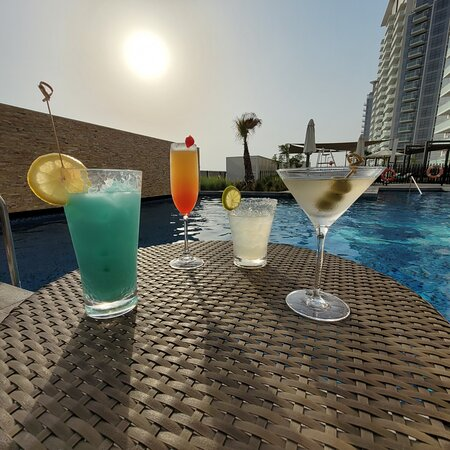 Cocktails at The Hills Pool Deck