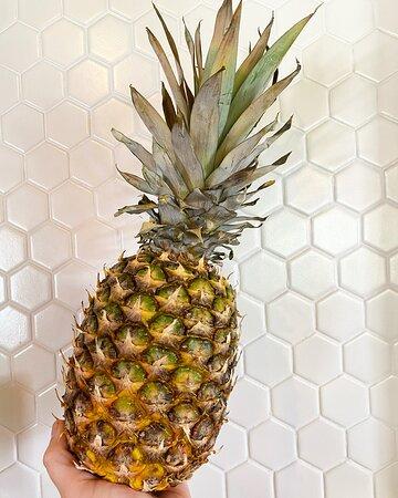 Fresh pineapple cut daily!