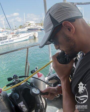 Cozumel, Messico: Double checking